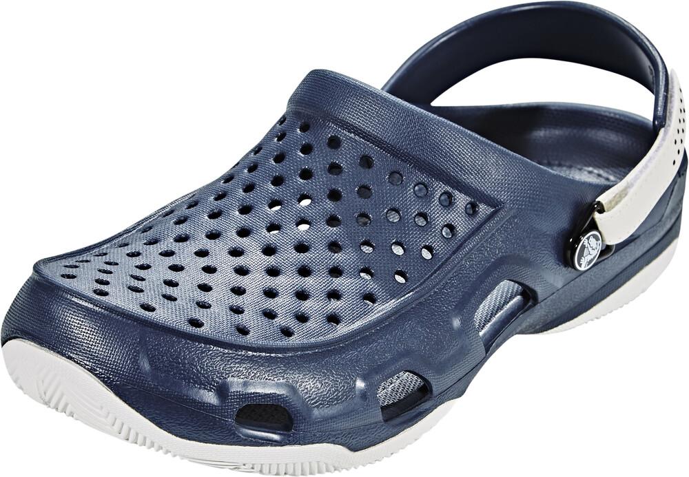Crocs »Swiftwater Deck« Clog, mit verstellbarem Fersenriemen, schwarz, 39 39
